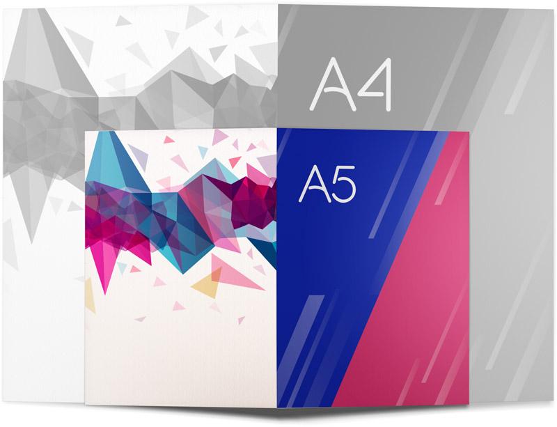 Díptico A5 Ideactiva Publicidad