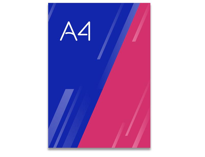 Flyer A4 Ideactiva Publicidad