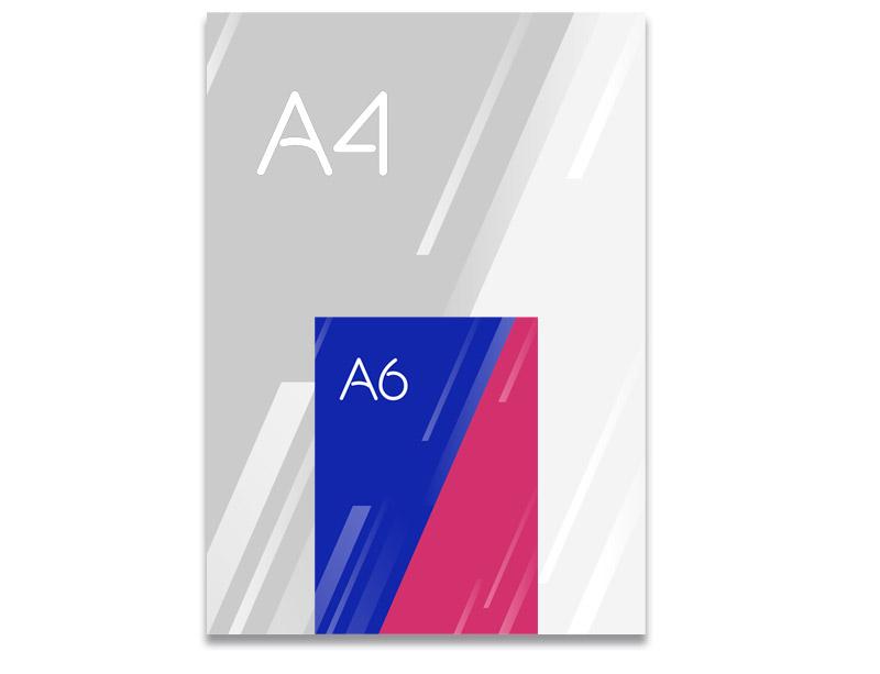 Flyer A6 Ideactiva Publicidad
