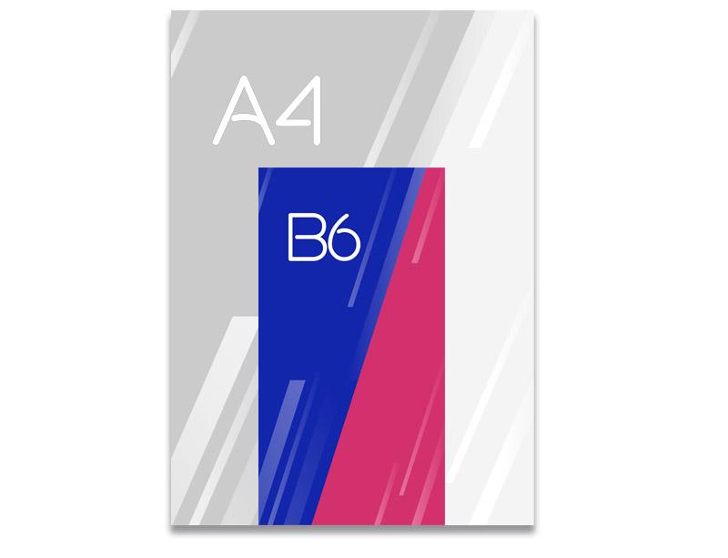Flyer B6 Ideactiva Publicidad